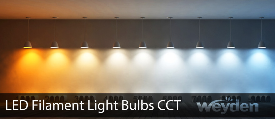 Choosing Best Color Temperature For LED Filament Light Bulbs Nice Ideas